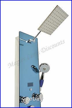 52 Home Bathroom Hot Water Shower Panel Tower Column 8 Body Massager Jets