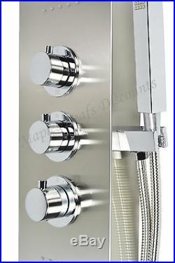56 Home Indoor Bathroom Hot Shower Water Heater Panel Column Tower Spa Jets