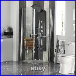 5 in1 Shower Panel Tower System Stainless Steel Anti-pollution Massage Jets
