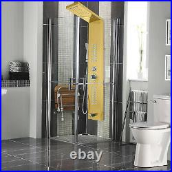 5 in1 Shower Panel Tower System Stainless Steel Wall Mounted Anti-pollution