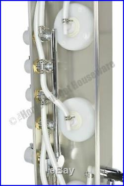 63 Modern Style Bathroom Water Shower Panel Column Thermostatic Massager Jets