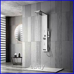 Adbatnos Shower Panel Multifunctional Shower Panel System Shower Tower Rainfa