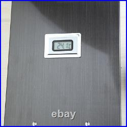 Bathroom numbers Shower Panel Screen Thermostatic Jets Faucet Set Column