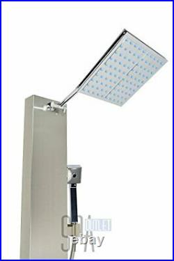 Blue Ocean 48 Stainless Steel SP822322 Shower Panel Tower with Rainfall
