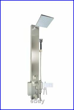 Blue Ocean 48 Stainless Steel SP822322 Shower Panel Tower with Rainfall Show