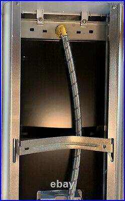 Blue Ocean 52 Aluminum SP787392B Shower Panel tower With Rain Fall Shower Head