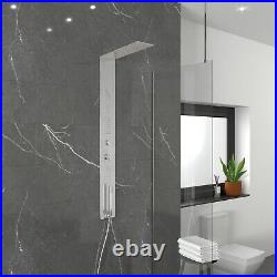Chrome Thermostatic Concealed Shower Tower Panel Lustro BeBa 26848