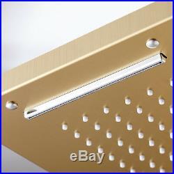Design Shower Panel Gold Shower Column Rain Shower Shower Set Shower System