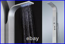 Design Stainless Steel Shower Panel Shower Column Rain Shower Set