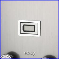 Digital Display Shower Panel Tower System Massage Body Jet Hand Shower Tap