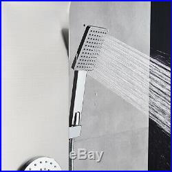 ELLO&ALLO Shower Panel Tower Rain Waterfall Massage Body System Jets Sprayer Tap