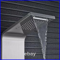 ELLO&ALLO Shower Panel Tower System Rainfall Waterfall Shower Massage Body Jets