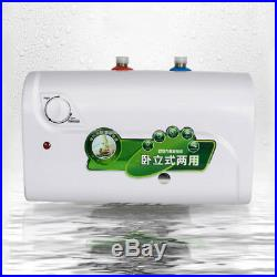 Electric Instant Hot Water Heater Bathroom Kitchen Horizontal+Tower shower panel