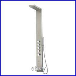 GRADE A2 Chrome Thermostatic Shower Tower Panel Provo