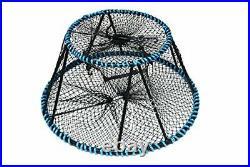 KUFA Tower style prawn, crab trap (ø28x ø20x 12), Stretched Mesh size1-3/4
