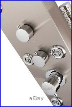 KV&V Blue Fountain 1021N Shower Panel Tower Column System of Superior Quality