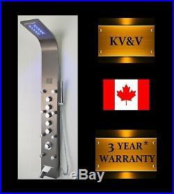 KV&V NEON Geyser-1011B LED Shower Panel Tower Column of Superior Quality