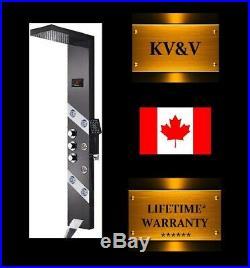 KV&V SILVER STAR Shower Panel Tower Column System of Superior Quality
