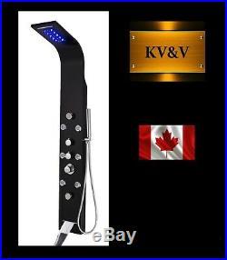 KV&V THERMOSTATIC 1021BT Shower Panel Tower Column System of Superior Quality
