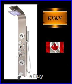 KV&V THERMOSTATIC 2027NT LED Shower Panel Tower Column of Superior Quality