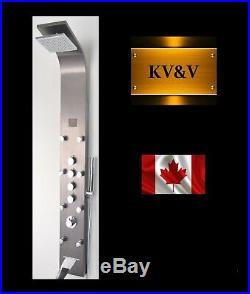 KV&V The Geyser 1005B Shower Panel Tower Column of Superior Quality