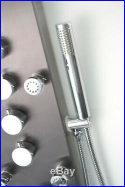 KV&V The Geyser BT- Thermostatic Shower Panel Tower of Superior Quality