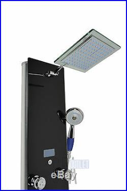 New 52 Hot Water Shower Panel Column Tower Bathroom Massage Therapy LED Display