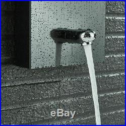 Oil Rubbed Bronze Shower Panel Column System LED Hand Sprayer Rain Waterfall