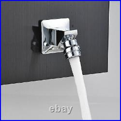Shower Panel Column Rainfall Waterfall Shower Head Massage Jet Stainless Steel