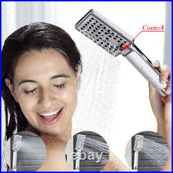 Shower Panel Column Tower LED Temperature Display Massage Body Jets Mixer Taps