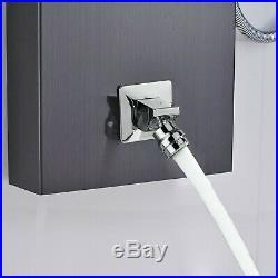 Shower Panel Massage Jets Shower Column Thermostatic Mixer Shower Faucet Tower