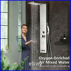 Shower Panel Multifunctional Shower Panel System Shower Tower, Rainfall Waterfa