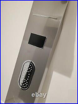 Shower Panel Tower Stainless Steel Rain&Waterfall System With LCD Screen