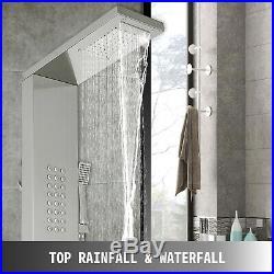 Stainless Steel Shower Panel Tower Rain&Waterfall Massage Body System