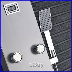 Thermostatic Shower Panel Column 6 Massage Body Jets Bathroom Handheld Sprayer