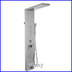 VEVOR Shower Panel Tower Rainfall/ Waterfall Massage Body System Stainless Steel