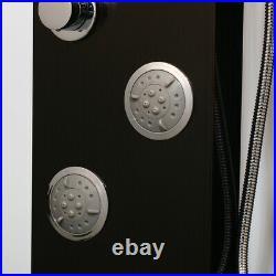 Waterfall Rain Shower LED Column Massage Jets Sprayer Shower Panel Hand Shower
